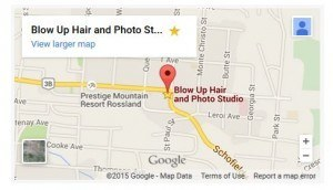 blowup hair map
